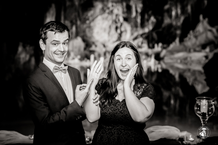 Hochzeit in den Saalfelder Feengrotten 1