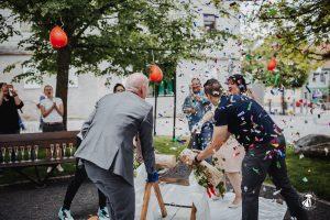 Hochzeit in Eisfeld
