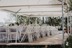 Hochzeit im Le Chalet Blanc